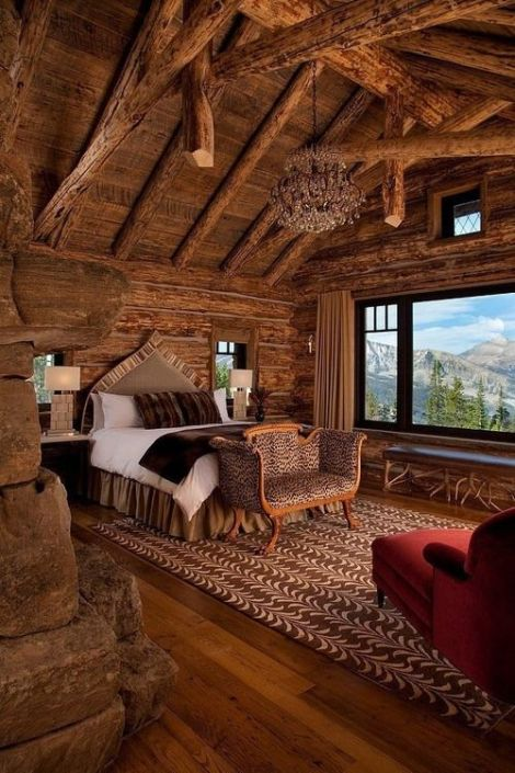 Cabin Bedroom, Crested Butte, Montana