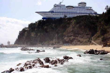 Cruise Ship Hotel, South Korea