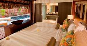 Garden Pool Suite Bedroom