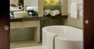 King Garden Pool Suite Bathroom