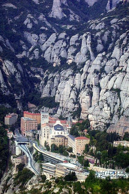 Montserrat, Catalonia - near Barcelona, Spain