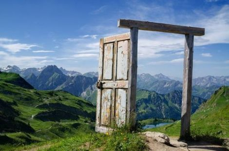 Mountain Doorway, Germany