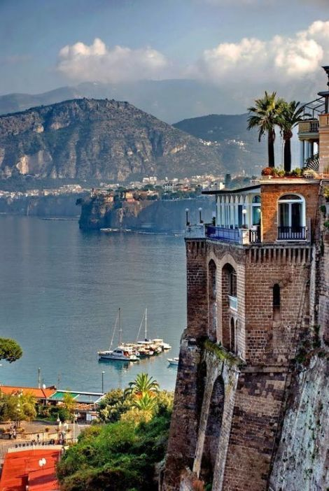 Seaside, Sorrento, Italy