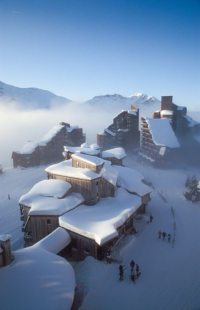 The Alps, Avoriaz, France