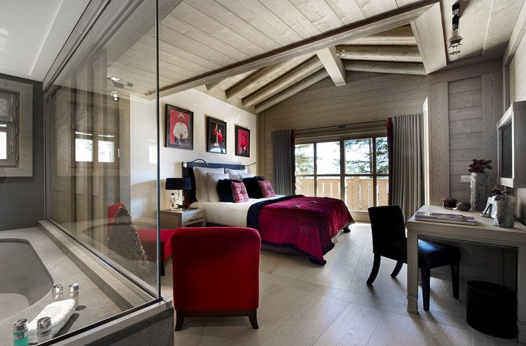 Hotel Le K2, Courchevel, France   luxandtravel