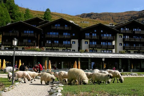 Riffelalp Resort 2222m, Zermatt Switzerland