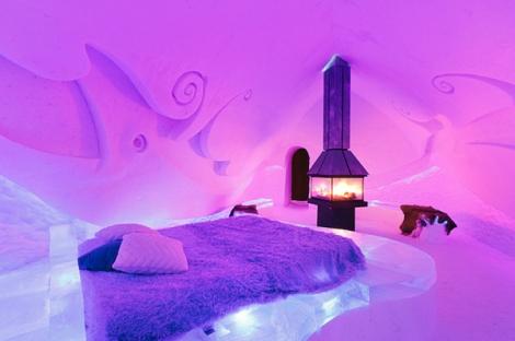 Ice Suite at the Hôtel de Glace – Québec, Canada