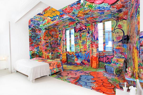 Panic Room At The Au Vieux Panier Hotel U2013 Marseille, France