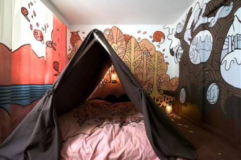 Room 121 at Hotel Fox – Copenhagen, Denmark