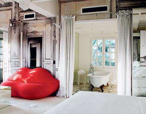 The Gilded Lounge Suite at La Maison des Champs Elysees by Maison Martin Margiela – Paris, France