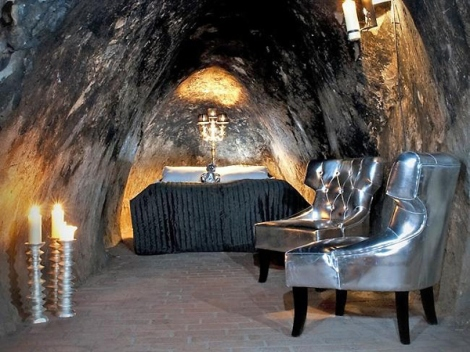 The Mine Suite at the Sala Silvermine Hotel – Vdstmanland County, Sweden