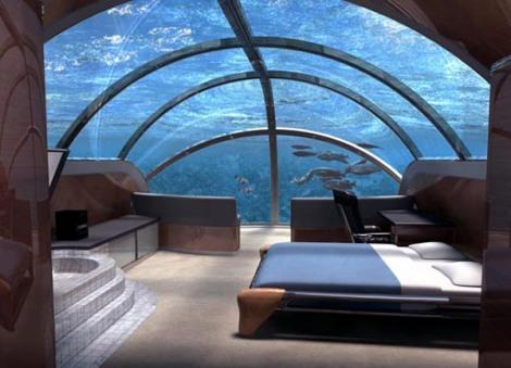 The Nautilus Suite at the Poseidon Undersea Resort – Poseidon Mystery Island, Fiji